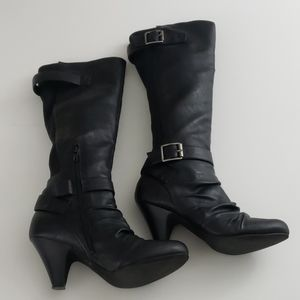Jessica Simpson Chen Black Knee High Boots
